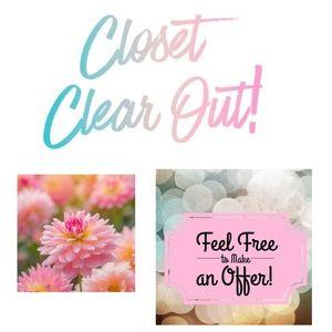 Closet sale🌺